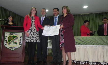 ICONTEC OTORGÓ CERTIFICACIÓN ISO 9001 A LA ESCUELA NORMAL SUPERIOR DE PASTO