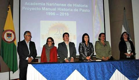 LANZAMIENTO DE LA XVII VERSIÓN DEL MANUAL DE HISTORIA DE PASTO