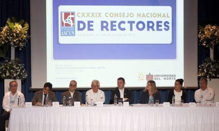 RECTOR DE LA UNIVERSIDAD DE NARIÑO, DR. CARLOS SOLARTE PORTILLA, DESIGNADO MIEMBRO DE LA JUNTA DIRECTIVA DE ASCUN
