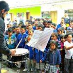 Red de Escuelas de Formación Musical Visita Instituciones Educativas