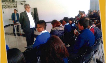 Con Estampas Literarias y Dramatizados, Estudiantes de La Escuela Normal Superior de Pasto Celebraron el Día del Idioma