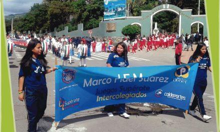 Monumental Desfile Instituciones Educativas de Pasto Inauguraron Los Juegos Intercolegiados Supérate 2017