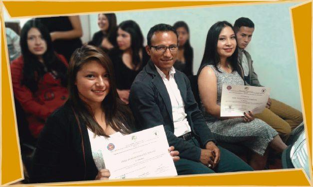 Docentes Normalistas Respaldan Entrega de Certificados a Estudiantes que Hacen Parte del Club de Lectores de La Constitución Política De Colombia