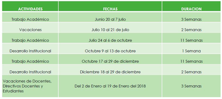 SECRETARIA DE EDUCACIÓN MUNICIPAL MODIFICA CALENDARIO ACADÉMICO 2017