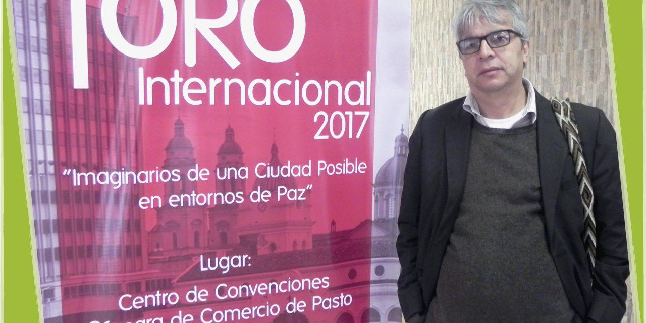 EN FORO INTERNACIONAL HABLARON DE PAZ Y EDUCACIÓN