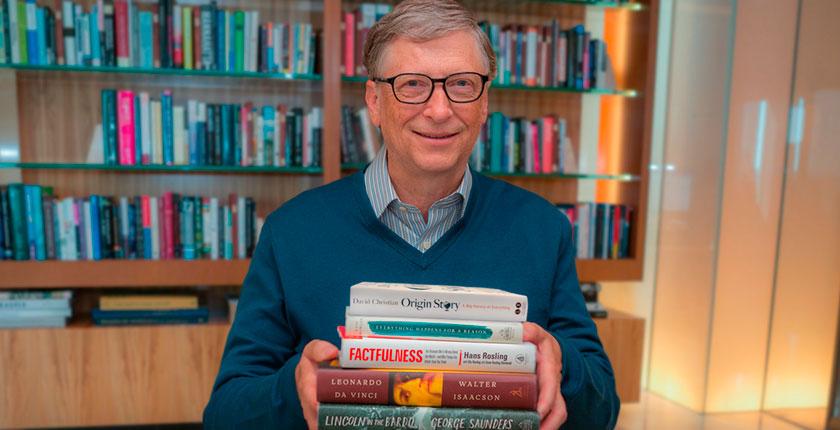Cinco Libros Recomendados por un Billonario