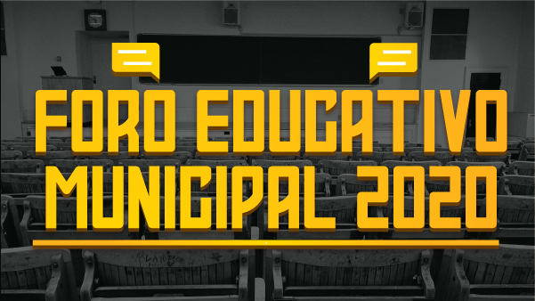 Foro Educativo Municipal 2020