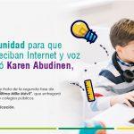 """Última Milla Móvil """"Oportunidad para que estudiantes reciban internet gratis"""
