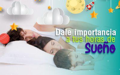 Dale importancia a tus horas de sueño