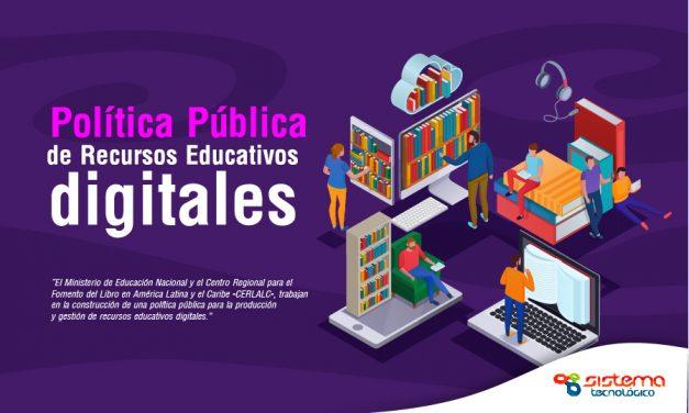A construir la Política Pública de Recursos educativos digitales