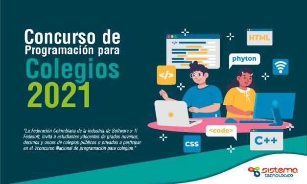 Llegó el V Concurso de Programación para colegios 2021
