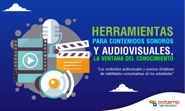 Herramientas para contenidos sonoros y audiovisuales, la ventana del conocimiento